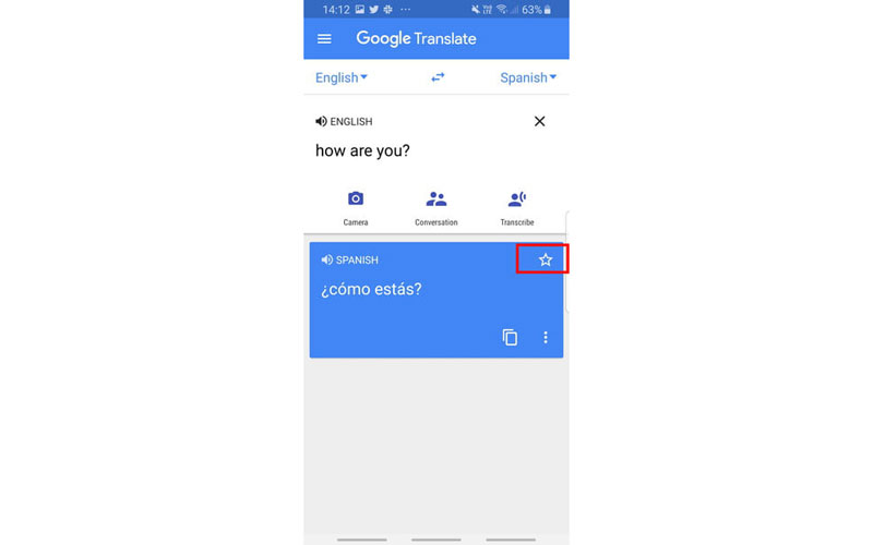 کتابچه گوگل ترنسلیت