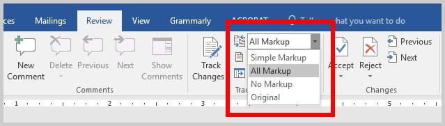 آموزش کامل استفاده از ترک چنج (Track Changes) در ورد